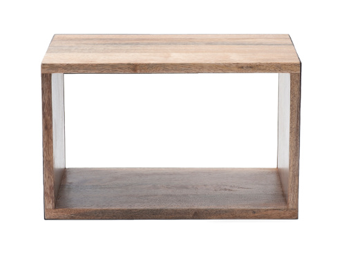 MATER (DISPLAY) MANGO BOX SYSTEM,  MANGOWOOD IN NATURAL STAIN (SMALL)