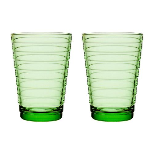 AINO AALTO TUMBLER, APPLE GREEN, 33 CL, 2-PACK