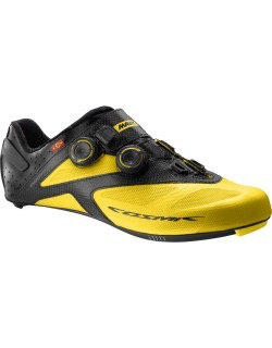 MAVIC® Shoe Cosmic Ultimate Maxi Fit UK 10 / EU 44 2/3 YELLOW MAVIC/BLACK/BLACK