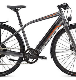 SPECIALIZED® 2016/2017 SPECIALIZED E-BIKE TURBO FLR GLOSS GRAPHITE / MOTO ORANGE LARGE