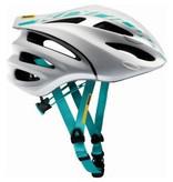 2016 Mavic Ksyrium Elite Helmet WHITE MOOREA BLUE Small
