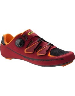 MAVIC® Shoe Ksyrium Pro UK 9 / EU 43 1/3 Red/BLACK/George orange-X