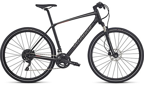 SPECIALIZED® 2018 CROSSTRAIL ELITE CARBON SILTNT/GRPH/NRDCRED Large
