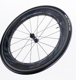 ZIPP 808 NSW Carbon Clincher Front 18 Spokes Impress Graphics