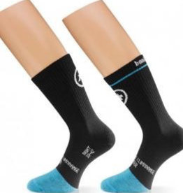 ASSOS ASSOS BONKA DEEP WINTER SOCK BLACKVOLKANGA 1 PAIR XS-S