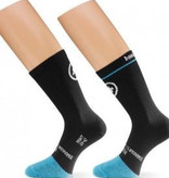 ASSOS ASSOS BONKA DEEP WINTER SOCK BLACKVOLKANGA 1 PAIR XL-XLG