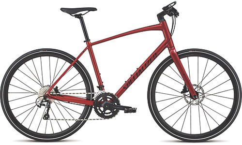 SPECIALIZED® 2018 SIRRUS MEN'S ELITE DISC CNDYRED/RKTRED M