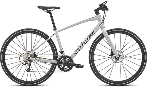 SPECIALIZED® 2018 SIRRUS WOMEN'S ELITE DISC FTHYWHT/LIMN/ACDMNT S