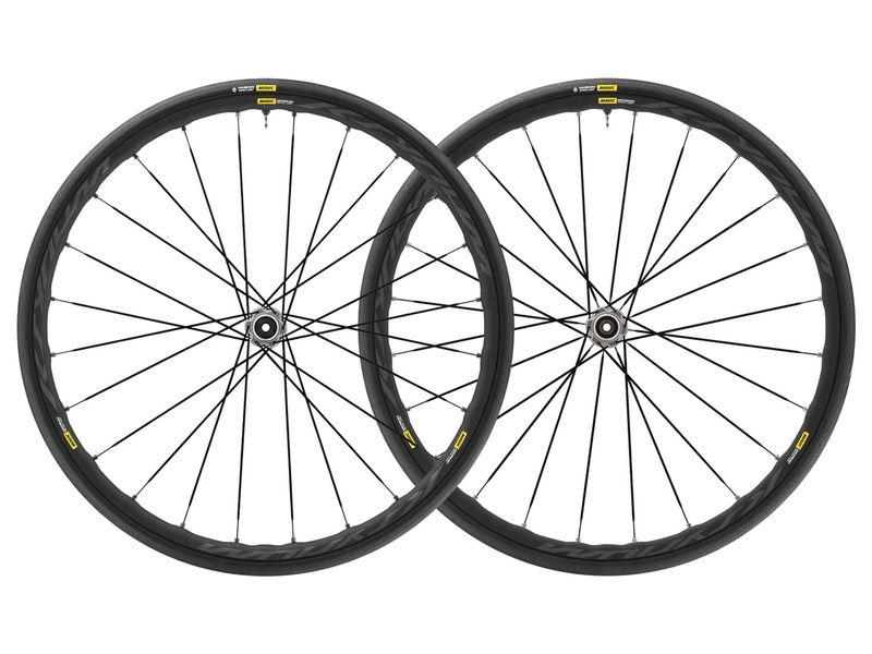 MAVIC® Mavic MY18 Ksyrium Elite UST Disc 6/Bolt Pair 12mm M-25 Black