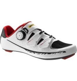 MAVIC® Shoe Ksyrium Pro UK 10.5 / EU 45 1/3 White/BLACK/RACING RED