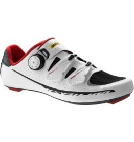 MAVIC® Shoe Ksyrium Pro UK 10 / EU 44 2/3 White/BLACK/RACING RED