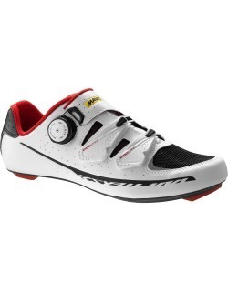 MAVIC® Shoe Ksyrium Pro UK 9.5 / EU 44 White/BLACK/RACING RED
