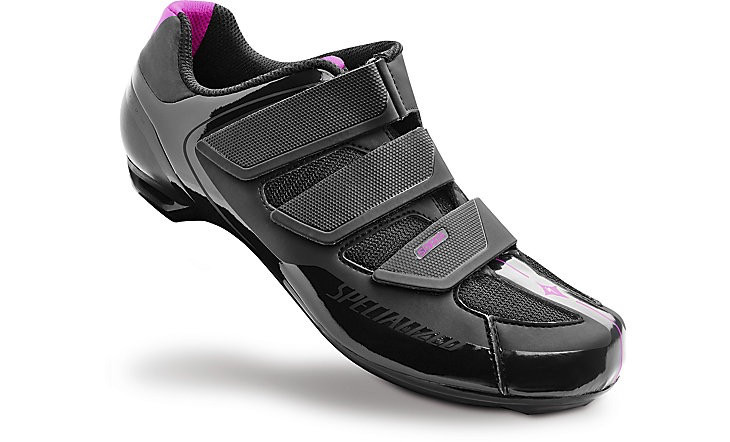 SPECIALIZED® SPIRITA ROAD SHOE WOMEN BLK/PNK 37/6.5