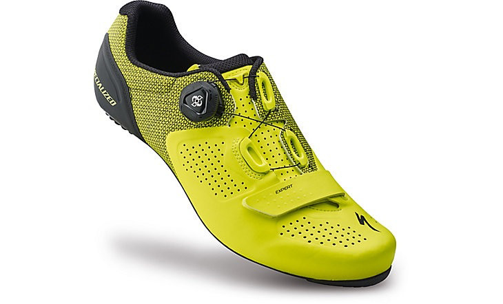 SPECIALIZED® EXPERT ROAD SHOE NEON YEL 44/10.6