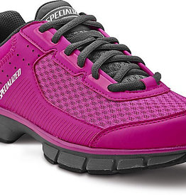 SPECIALIZED® CADETTE SHOE WOMEN BRT PNK/CARB 37/6.5