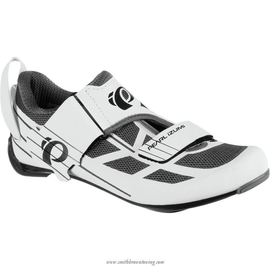 PEARL IZUMI® PI Women's, Tri Fly Select V6, White/Shadow Grey, Size 39.0