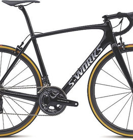 SPECIALIZED® 2017 S-Works Tarmac Di2 Gloss Cosmic Black/ Brushed/ Clean 54 cm / Medium