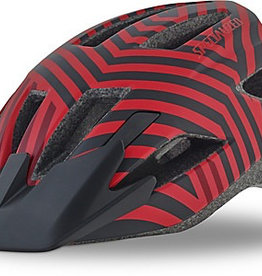 SPECIALIZED® SHUFFLE LED HELMET CE RED/BLACK RAZZLE YOUTH