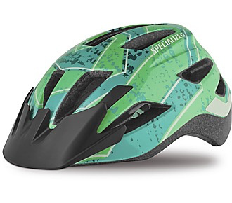SPECIALIZED® SHUFFLE LED HELMET CE MINT SPIRAL CHILD