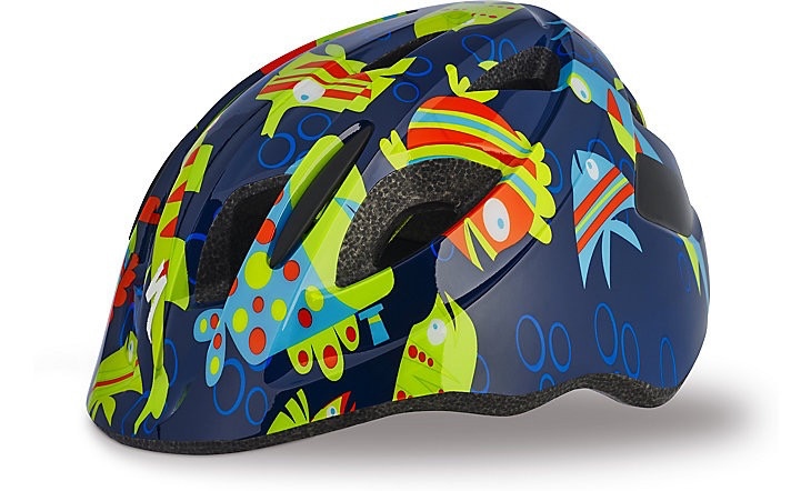 SPECIALIZED® MIO HELMET CE NVY/GRN FISH TODDLER