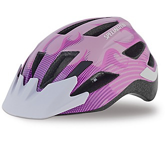 SPECIALIZED® SHUFFLE LED HELMET CE PINK FLAMES CHILD