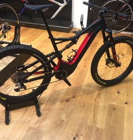 SPECIALIZED® Pre Loved 2017 S-WORKS LEVO FSR 6FATTIE BLK/FLORED Large was £7750!