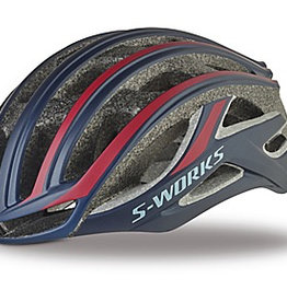 SPECIALIZED® S-WORKS PREVAIL II HELMET CE NVY/RED M