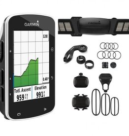 GARMIN Garmin Edge 520 GPS- enabled cycle computer with speed / cadence sensors & HRM - black