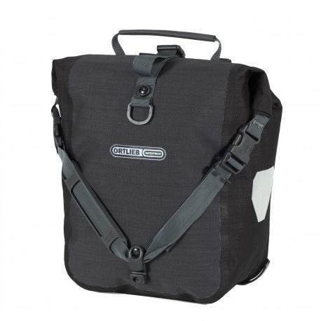 ORTLIEB Ortlieb Sport Roller Plus Pannier Bags Granite/Black - Pair (25L)