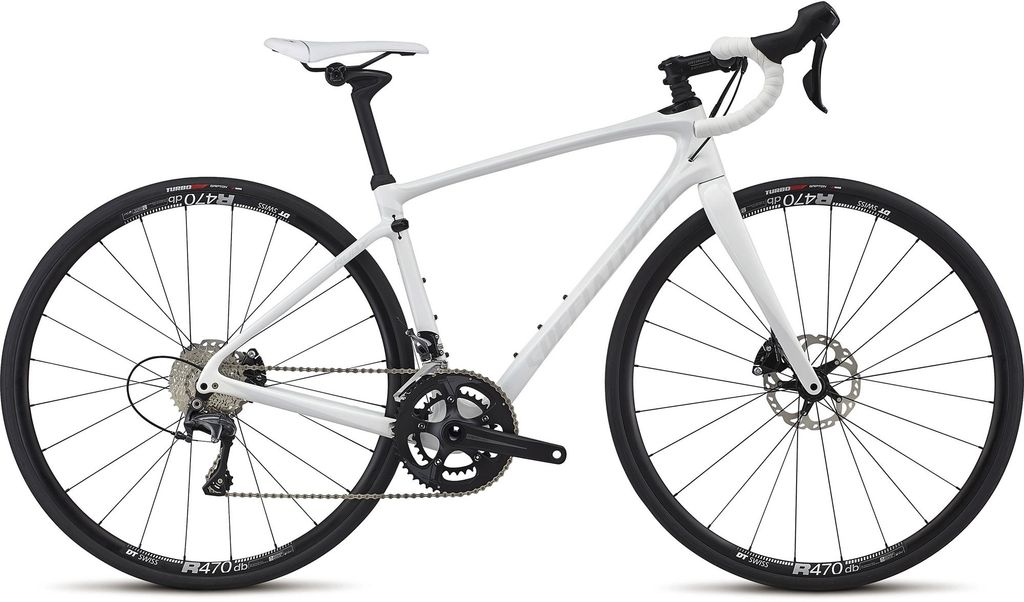 SPECIALIZED® Pre-Loved Specialized Ruby Comp White/White/Silver 48cm/Small
