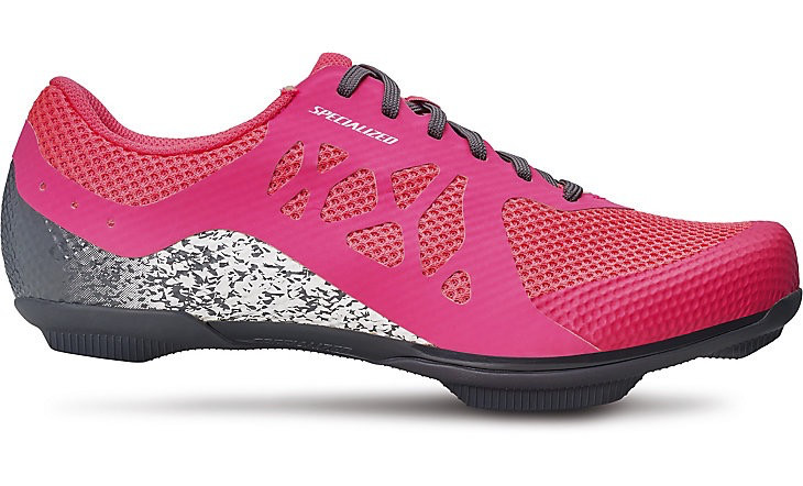 SPECIALIZED® REMIX ROAD SHOE WOMEN EPNK/CLGRY 40