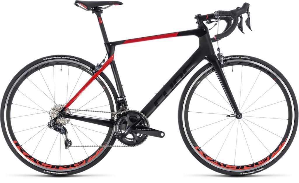 CUBE AGREE C:62 SL CARBON/RED 2018 56 CM 28.0inch (7.40 KG)