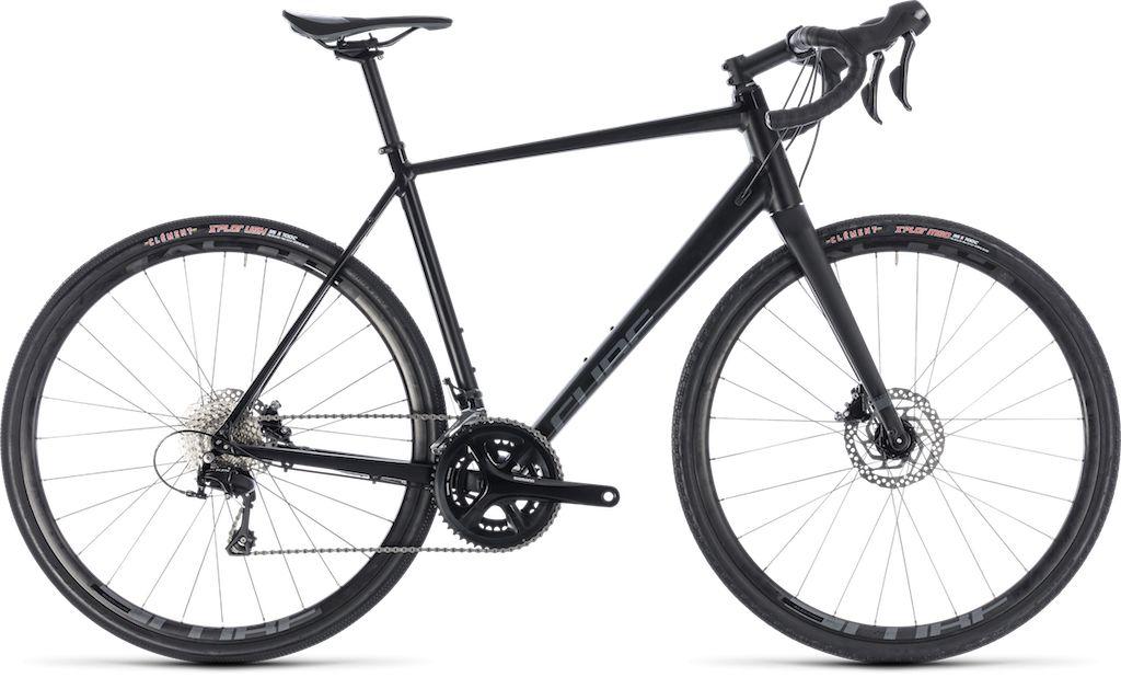 CUBE NUROAD PRO BLACK/GREY 2018 56 CM inch (10.60 KG)