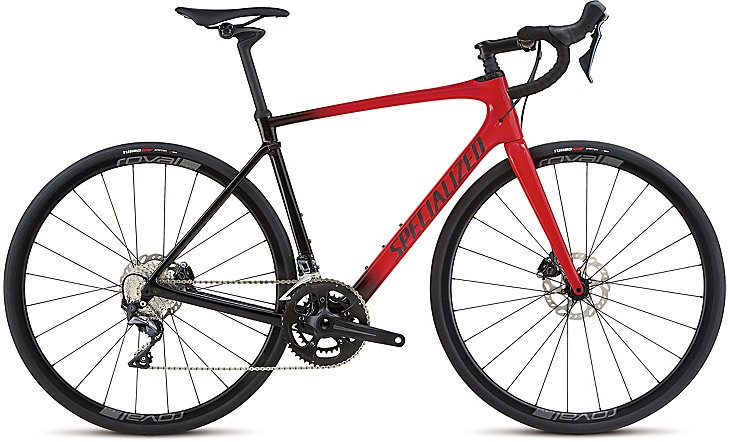 SPECIALIZED® 2018 ROUBAIX COMP Gloss Red/Tarmac Blk Fade/Blk Ref/Clean 56 cm/Large