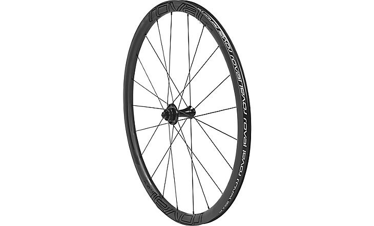 ROVAL CLX 32 DISC FRONT SATIN CARBON/GLOSS BLK