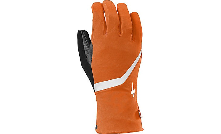 SPECIALIZED® DEFLECT H2O GLOVE LONG FINGER NEON ORG M