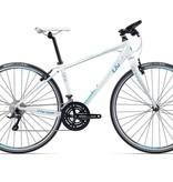 Pre-Loved Giant Liv Thrive 2 Women's Hybrid Bike White (small)