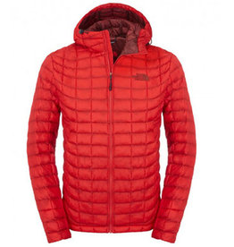 The North Face TNF M Thermoball Hoodie Jacket , TNF Red, L