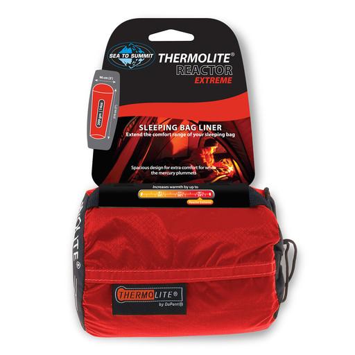Sea To Summit Sea To Summit Reactor Thermolite Extreme liner, Orange Sack/Red