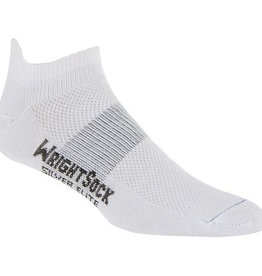Wrightsock Wrightsock Silver Stride Tab,White,S