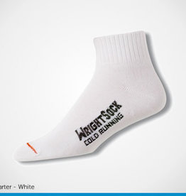 Wrightsock Wrightsock Cold Weather Qtr,White,S