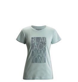 Black Diamond Black Diamond W Ss Bd Block Tee