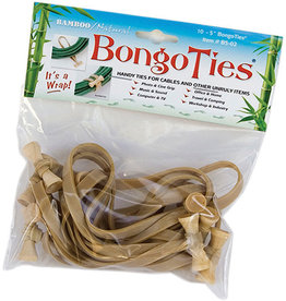 Bamboo/Natural BongoTies 10 Pack