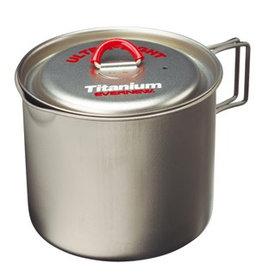 Evernew Evernew Titanium Mug Pot 900 Red