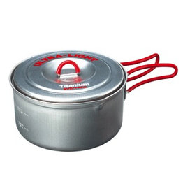 Evernew Evernew Titanium Ultra Light Cooker 2 Red