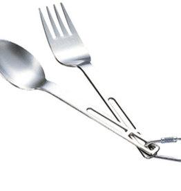Evernew Titanium Spoon & Fork Set