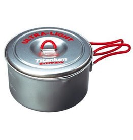 Evernew Evernew Titanium Ultra Light Cooker 3 Red