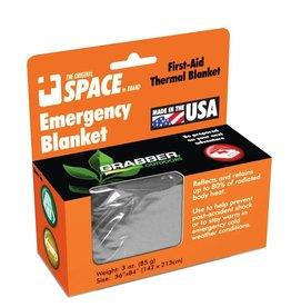 Grabber Grabber SPACE Emergency  Blanket, Silver