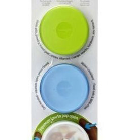 Humangear Humangear GoTubb 3pk Small/14cc (Green/Blue/Clear)