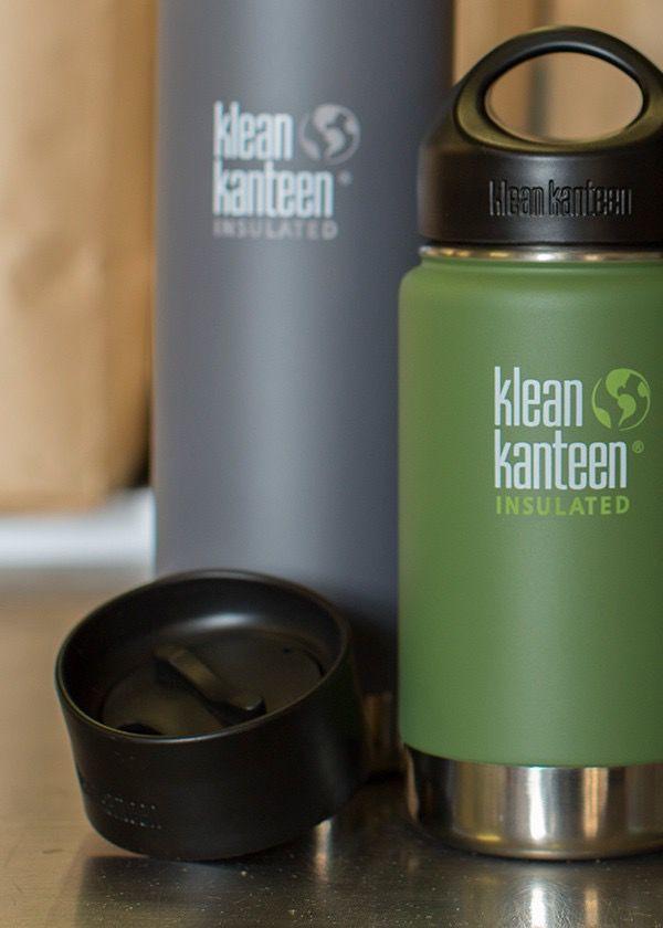 Klean Kanteen Klean Kanteen Wide Cafe Cap 2.0 (BLK)